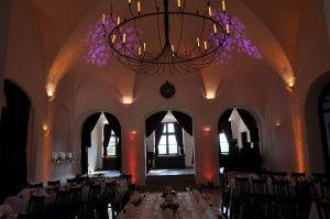 Beleuchtung Hochzeit Schloss Seefeld