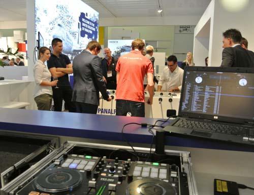DJ Messe München bei Panalpina