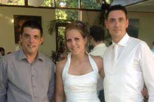 DJ Alberto Hochzeitspaar