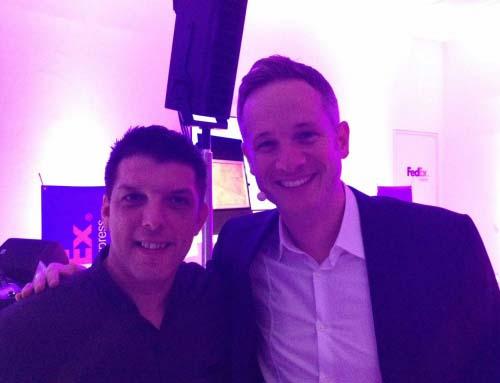 Simon Pierro, der iPad Zauberer bei FedEx