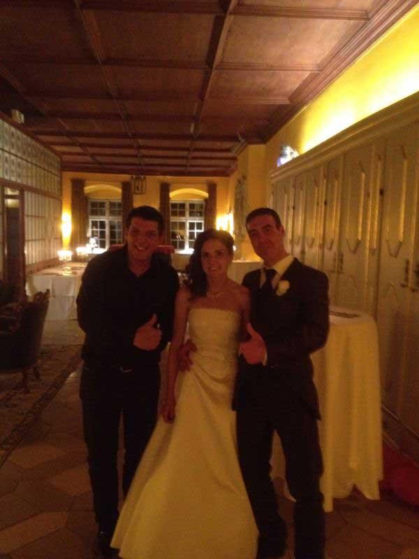 Hochzeitsparty mit DJ