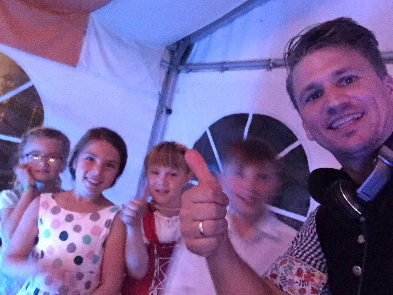 DJ Sandro Kinderbetreuung