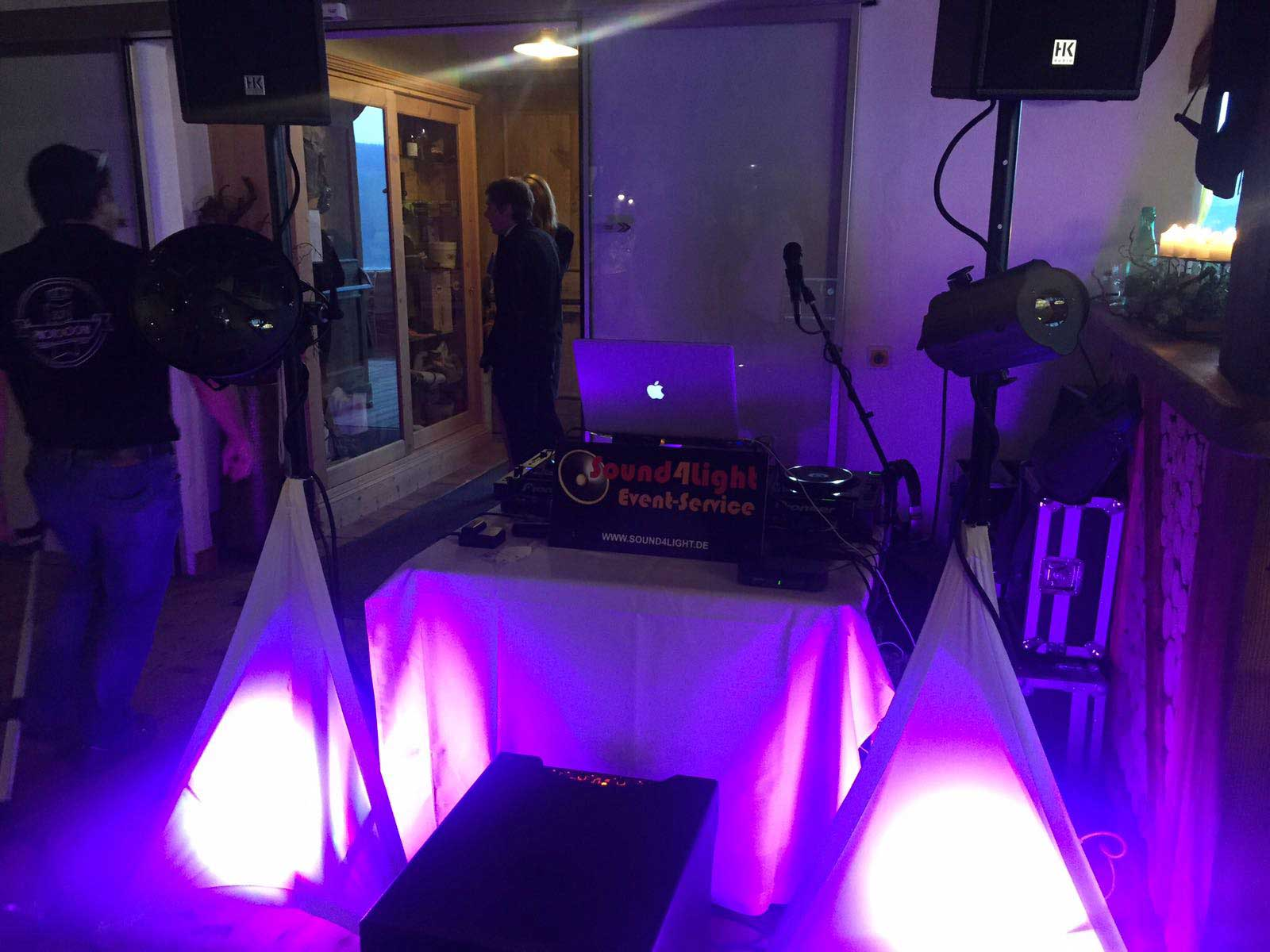 Sound4Light Hochzeits DJ