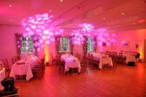 Beleuchtung Christa Spangenberg von DJ München Schloss Blutenburg
