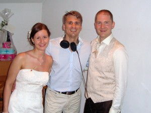 Brautpaar DJ Sandro