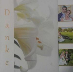 Danke Karte Hochzeit