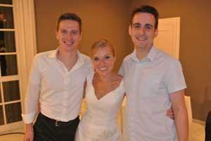 DJ Patrick mit Brautpaar