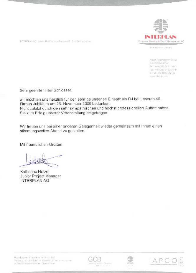 Referenz Interplan München