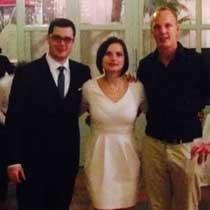 DJ Mirko und Brautpaar