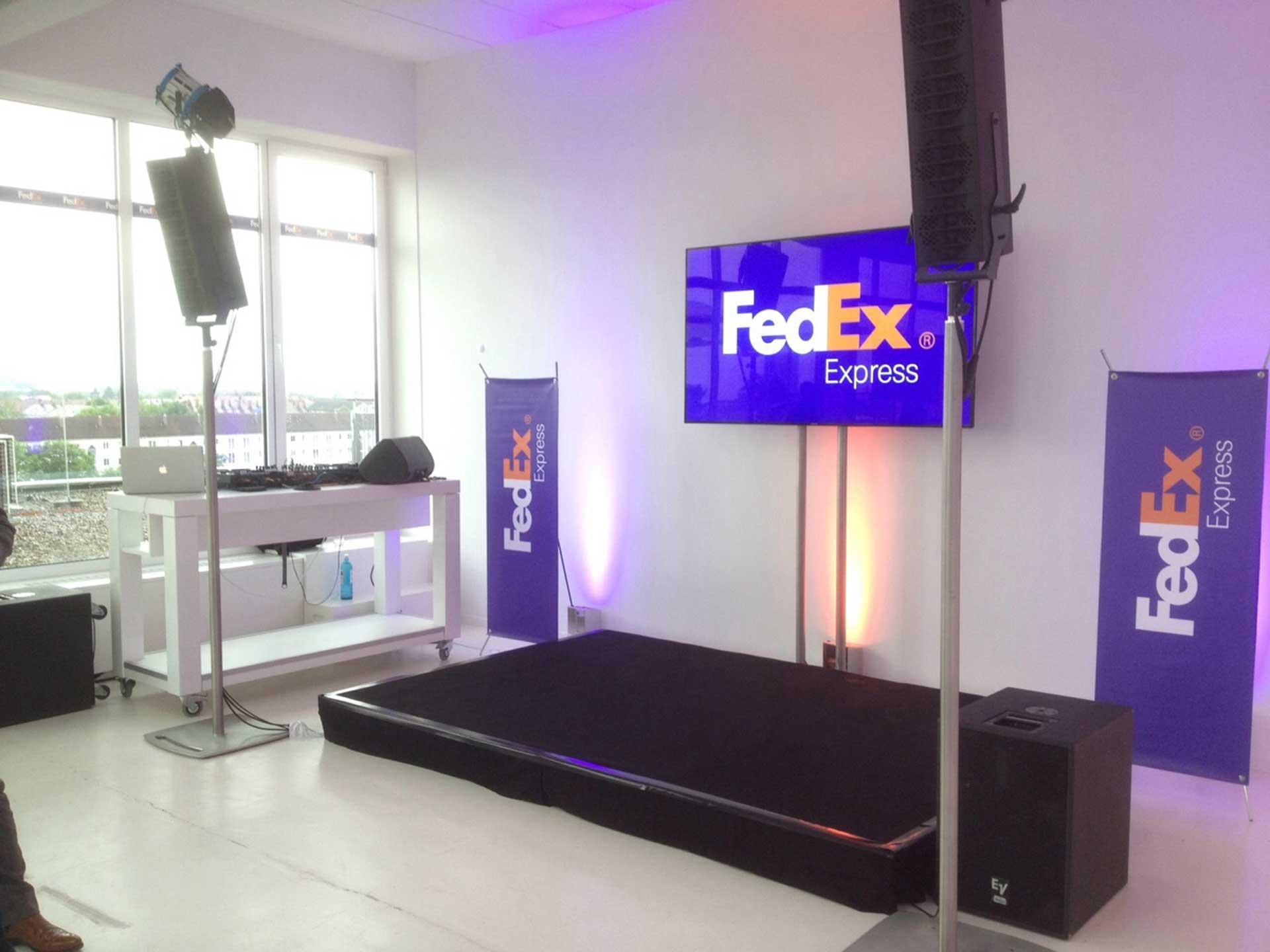 FedEx Veranstaltung