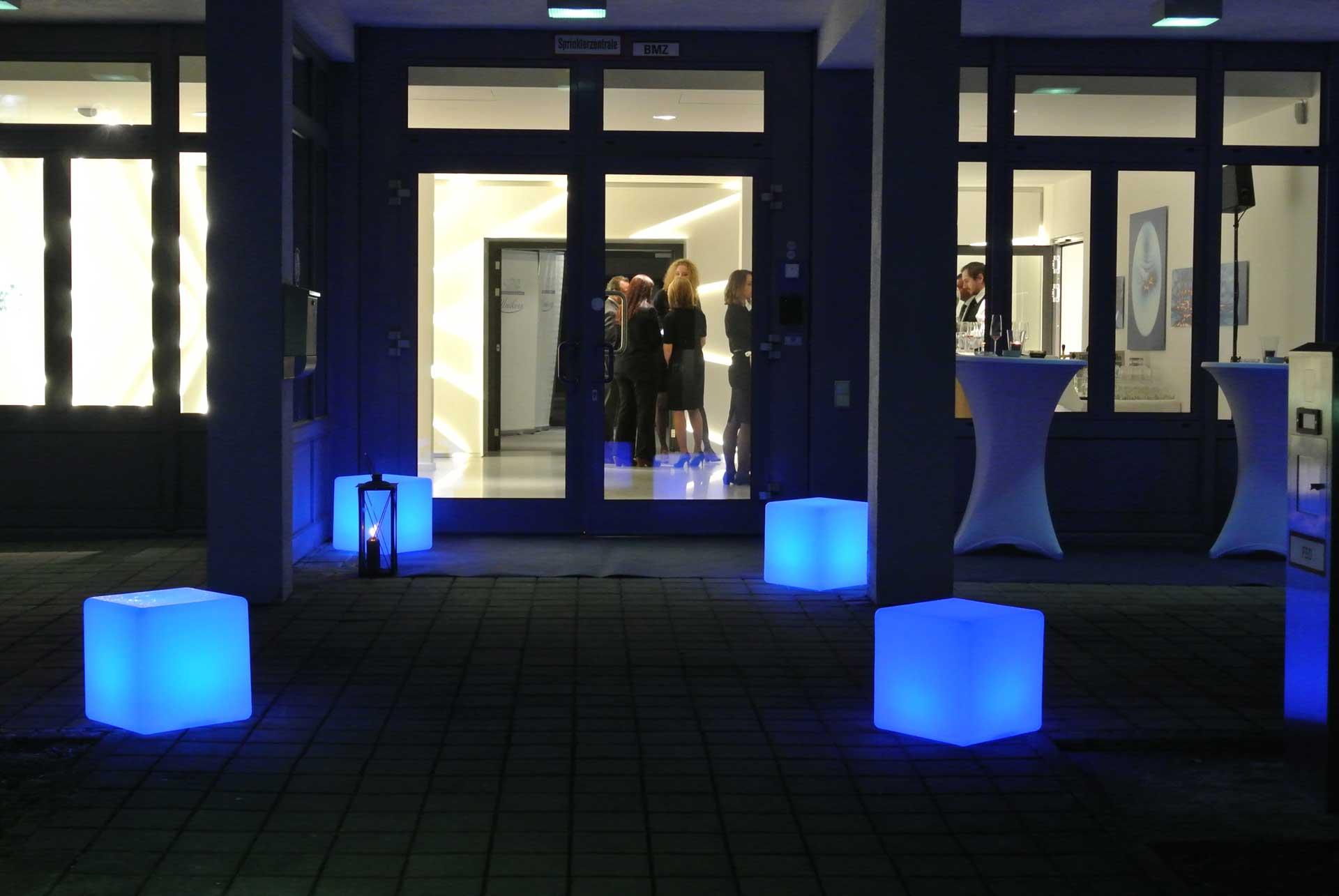 Feier bei DornierMedTech in Weßling