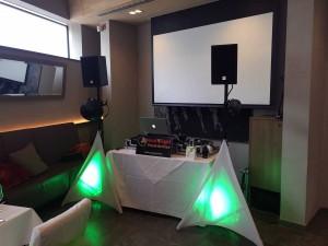 DJ München Setup Anlage