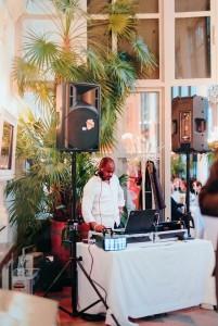 DJ Jules at Work