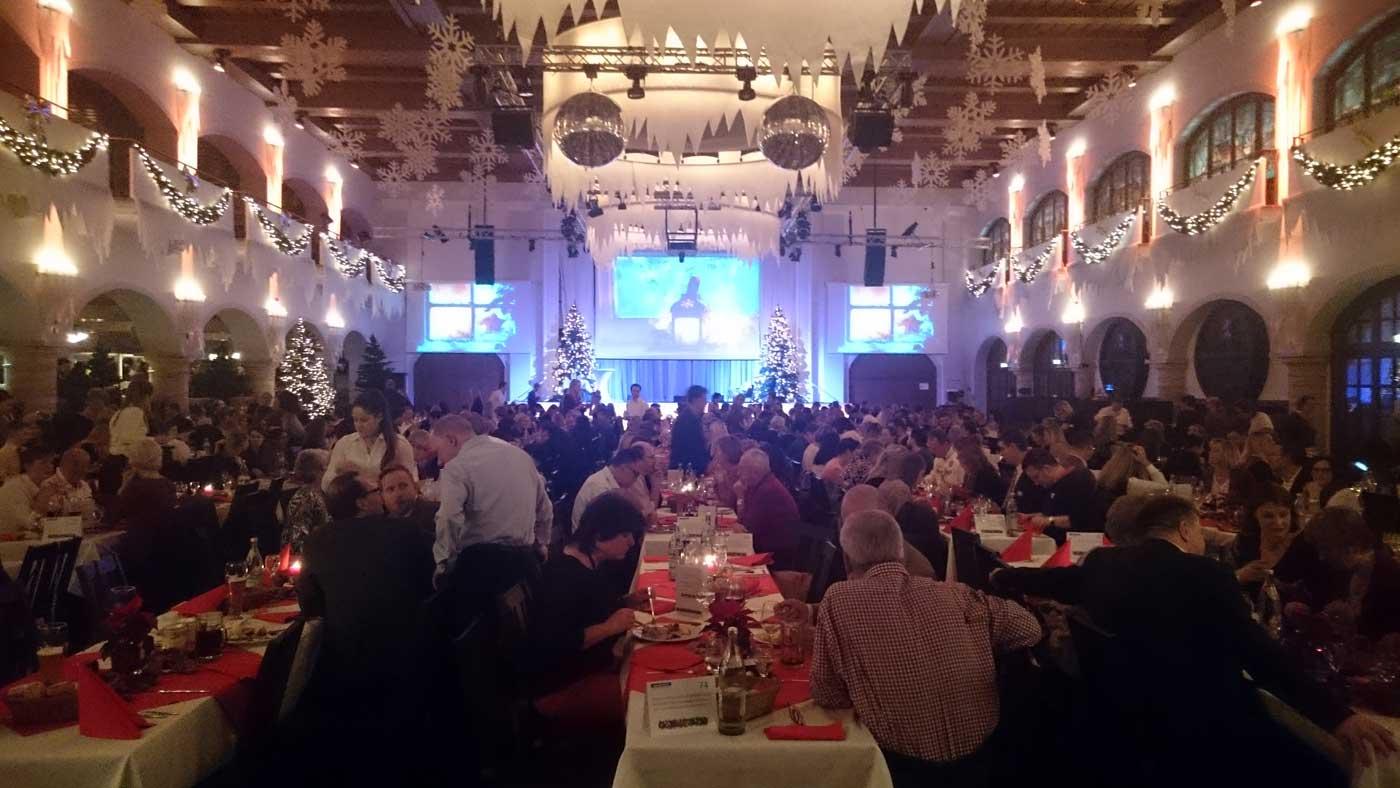 Weihnachtsfeier Löwenbräukeller München