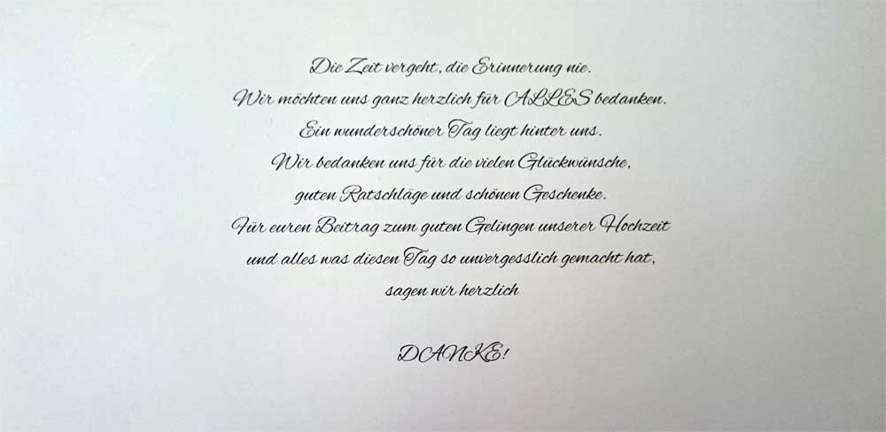 Agnes Christoph Danke