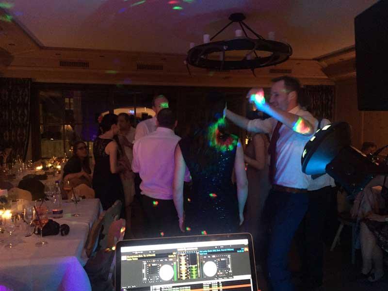 Hochzeitsfeier mit DJ Sandro