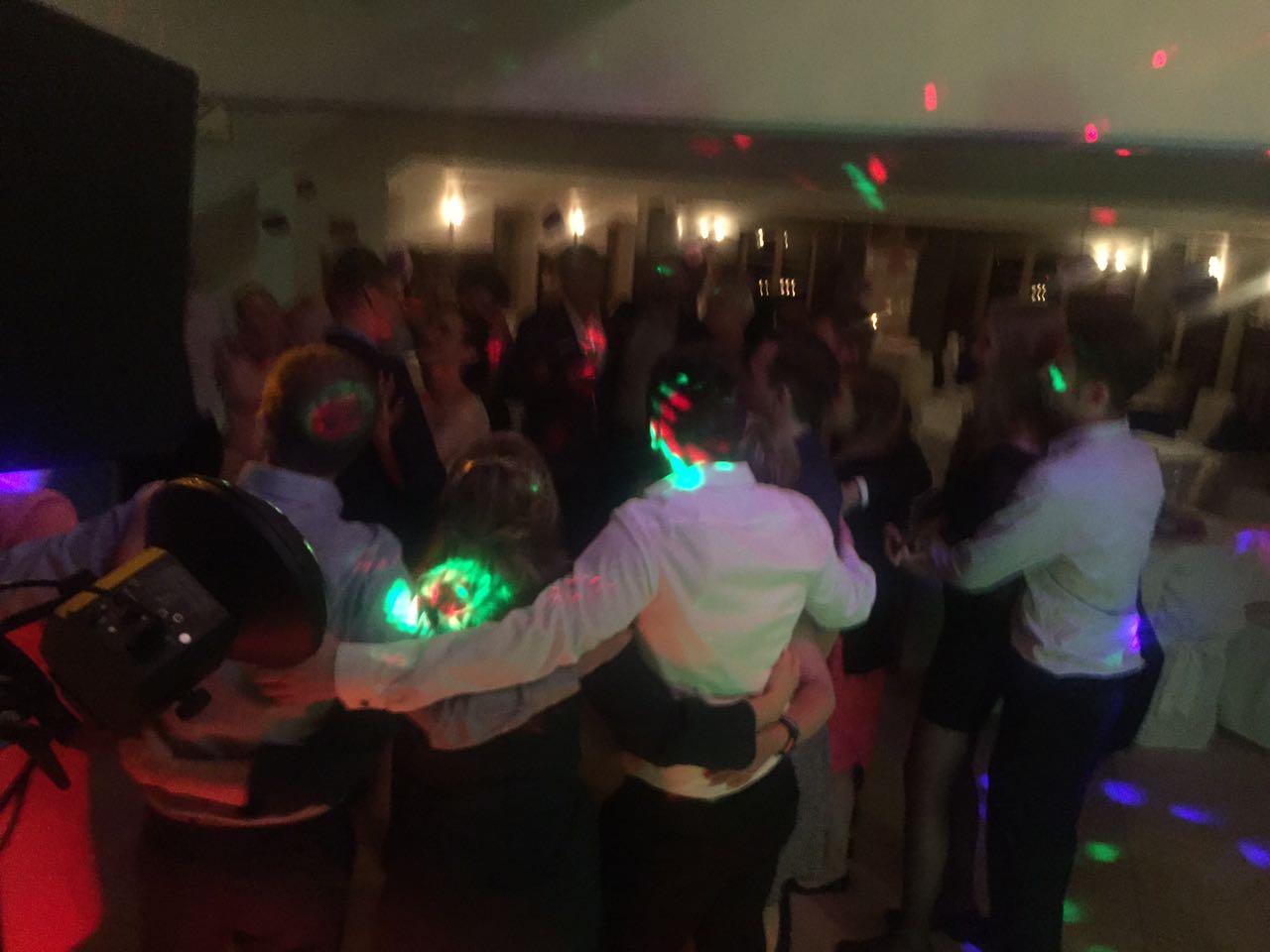 Hochzeits-Party mit DJ