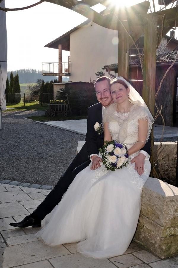 Brautpaar Martina und Michi