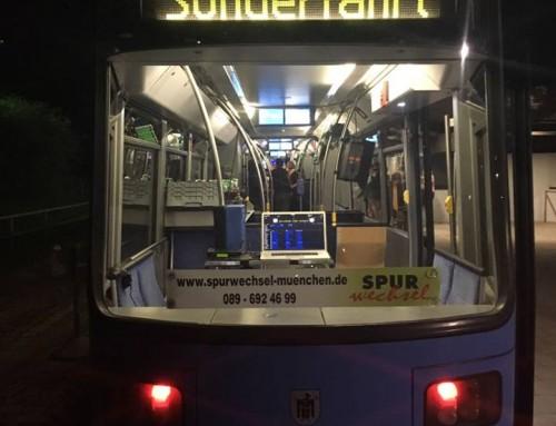 Disco Tram mit Sound4Light – DJ Service München