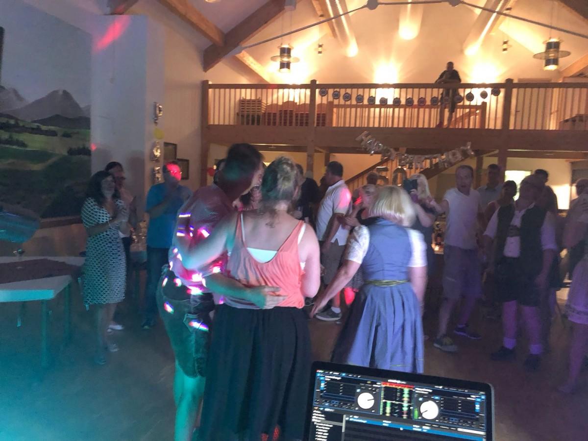 Runder Geburtstag Feier mit DJ