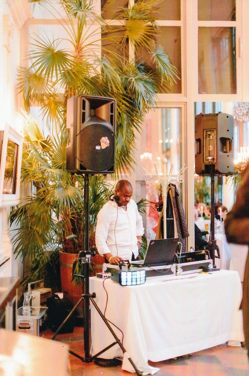 DJ Jules Schloscafe Palmenhaus im Nymphenburger Schloss